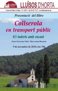 Presentació del llibre Collserola en transport públic