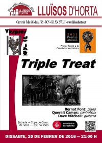 Vespres de Jazz - Triple Treat