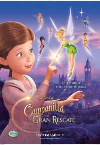Cinema Familiar - Campanilla y el gran rescate