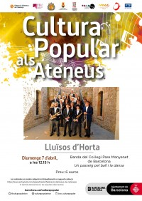 Cultura Popular als Ateneus - Banda del Col·legi Pare Manyanet de Barcelona