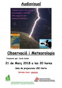 Observació i Meteorologia