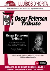 Vespres de Jazz - Oscar Peterson Tribute
