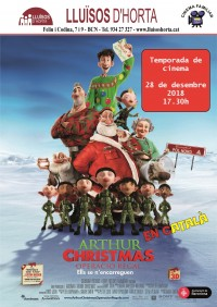 Cinema Familiar - Arthur Christmas
