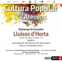 Cultura Popular als Ateneus - Jove Banda Simfònica de Barcelona