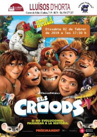 Cinema Familiar - Els Croods