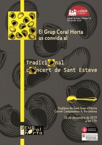 Tradicional concert de Sant Esteve