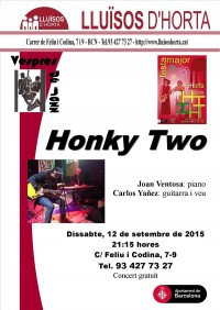 Festa Major d'Horta 2015 - Jazz al carrer - Honky Two