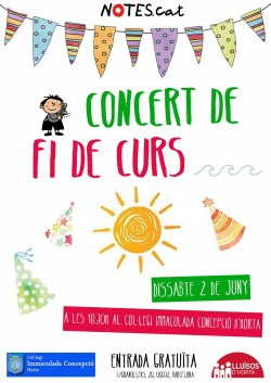 Notes.cat - Concert de Final de curs