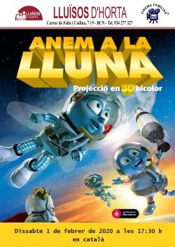 Cinema Familiar - Anem a la Lluna
