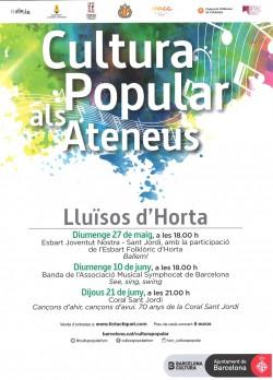 Cultura Popular als Ateneus - Esbart Joventut Nostra - Sant Jordi