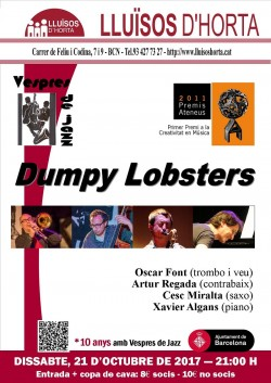 Vespres de Jazz - Dumpy Lobsters