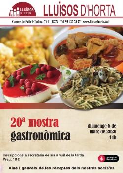 20a Mostra Gastronòmica