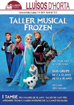 Taller Musical Frozen