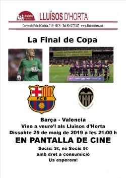 Copa del Rei - Barça vs Valencia