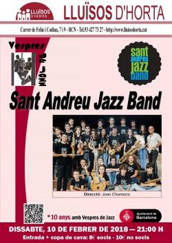 Vespres de Jazz - Sant Andreu Jazz Band