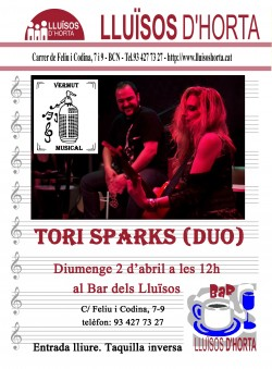 Vermut Musical - Tori Sparks (duo)