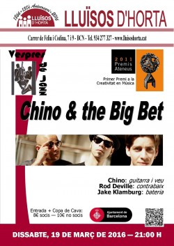 Vespres de Jazz - Chino & the Big Bet