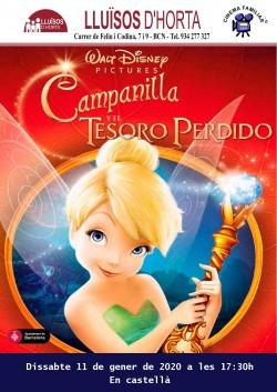 Cinema Familiar - Campanilla y el tesoro perdido