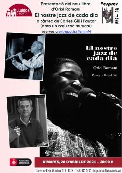 Presentació del llibre El nostre jazz de cada dia