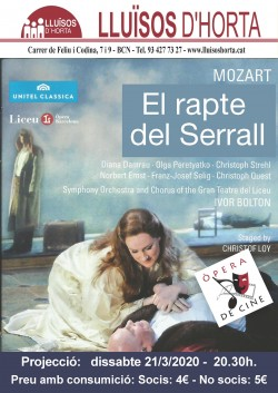 Òpera de Cine - El rapte del Serrall
