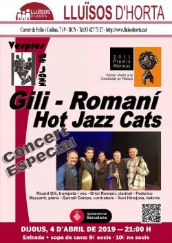 Vespres de Jazz - Gili-Romaní Hot Jazz Cats