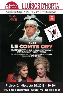 Òpera de Cine - Le Comte Ory