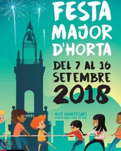 Festa Major d'Horta 2017 - Tarda de dansa catalana