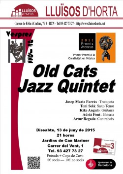 Vespres de Jazz - Old Cats Jazz Quintet