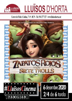 Cinema Familiar - Zapatos Rojos y los 7 trolls