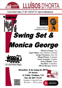 Vespres de Jazz - Swing Set & Monica George