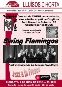 Vespres de Jazz - Swing Flamingos