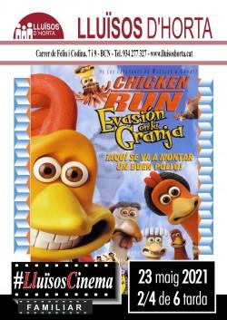 Cinema Familiar - Chicken Run: Evasió a la granja
