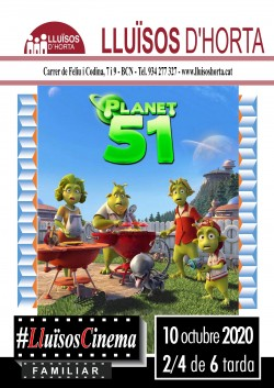 Cinema Familiar - Planet 51