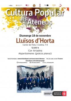 Cultura Popular als Ateneus - Cor Ariadna