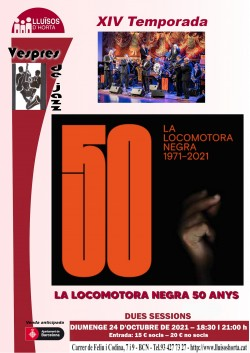 Vespres de Jazz - La Locomotora Negra 50 Anys