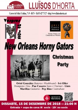 Vespres de Jazz - New Orleans Horny Gators