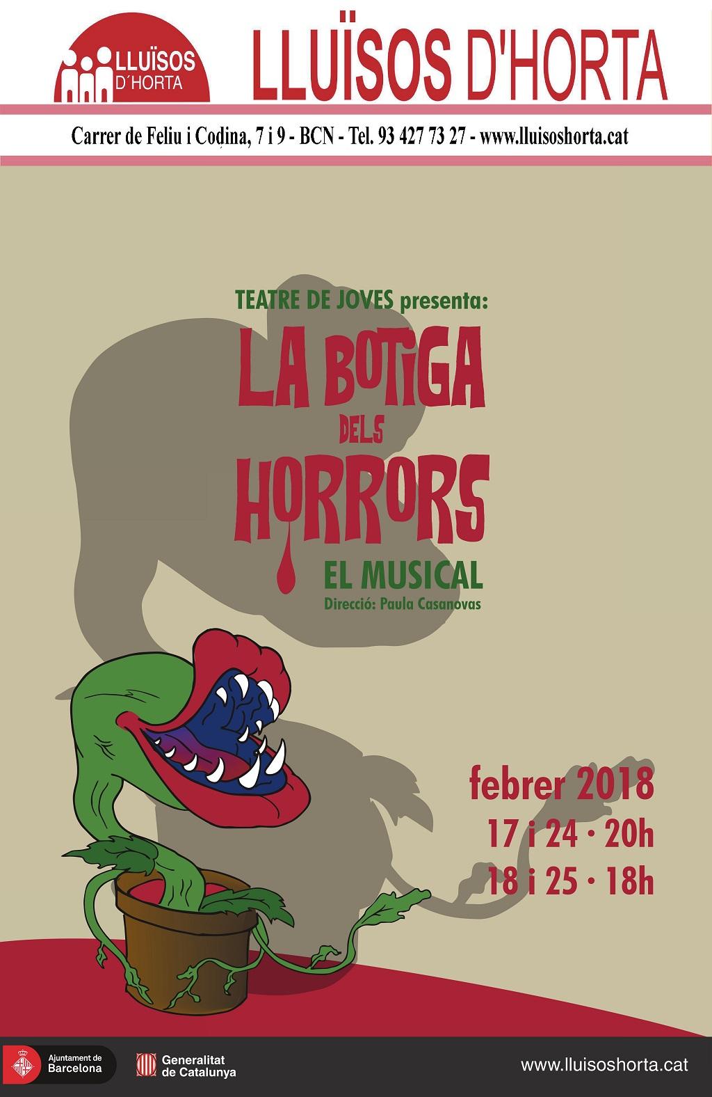 La Botiga dels Horrors, el musical