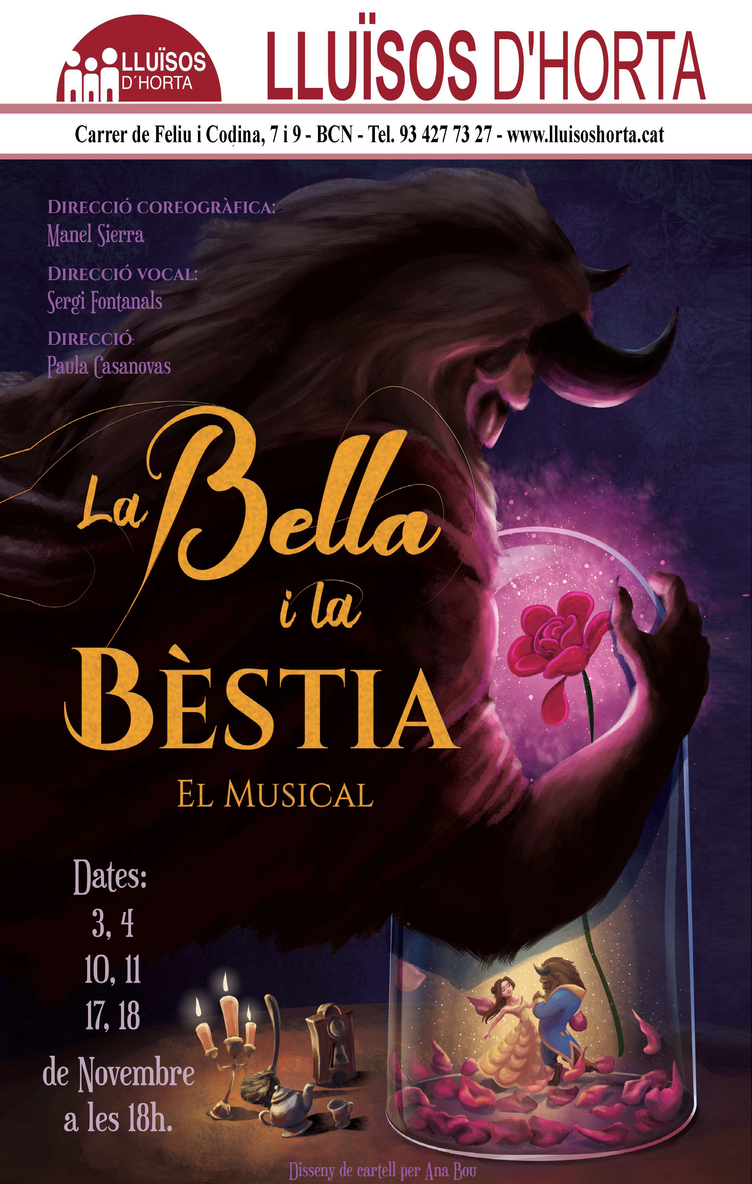 La Bella i la Bestia, el musical