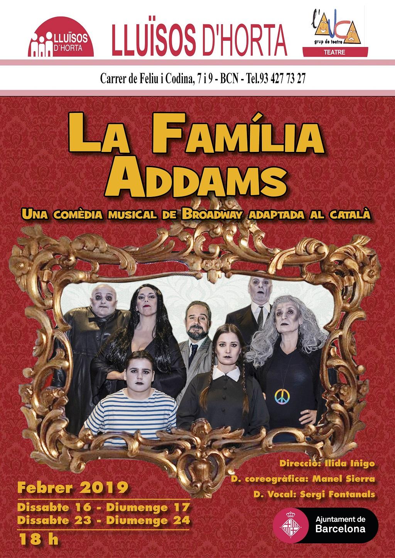 La Familia Addams, el musical