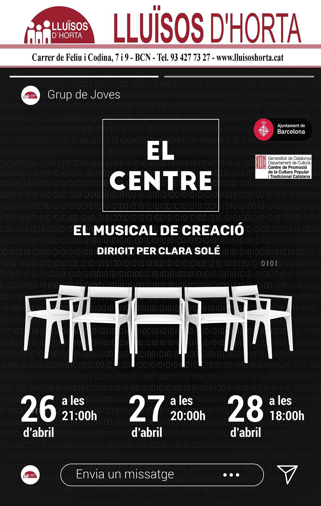 El Centre, el musical de creació