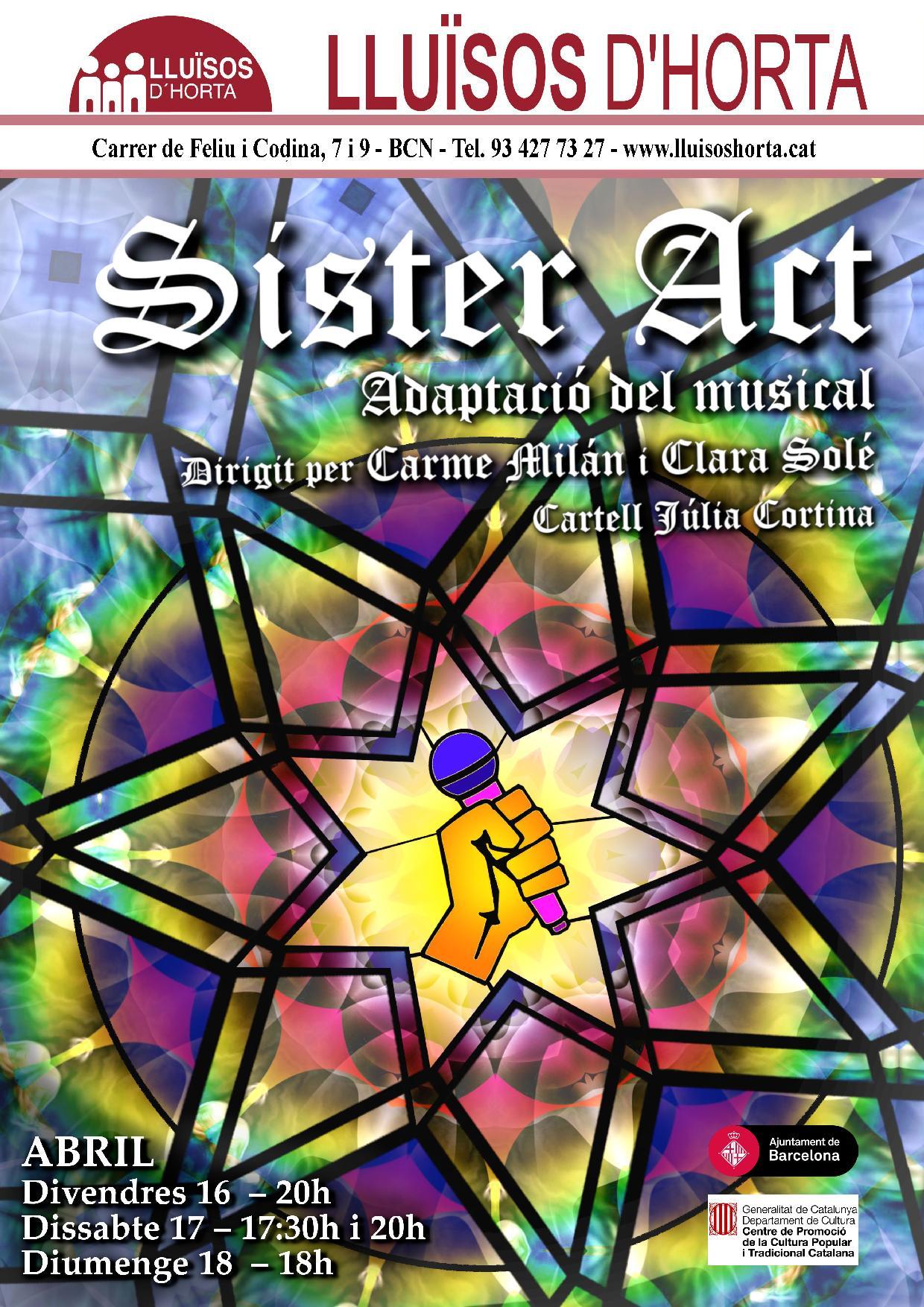 Sister Act, adaptació del musical